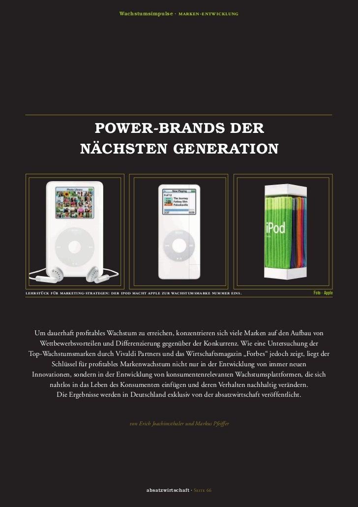 Wachstumsimpulse · marken-entwicklung                      POWER-BRANDS DER                     NÄCHSTEN GENERATIONlehrstü...