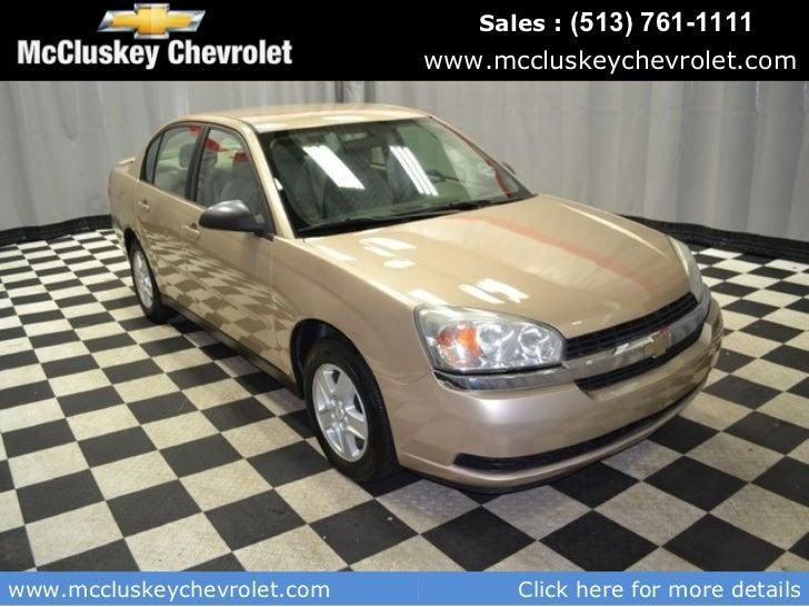 Used 2005 Chevrolet Malibu Ls Sedan Kings Automall