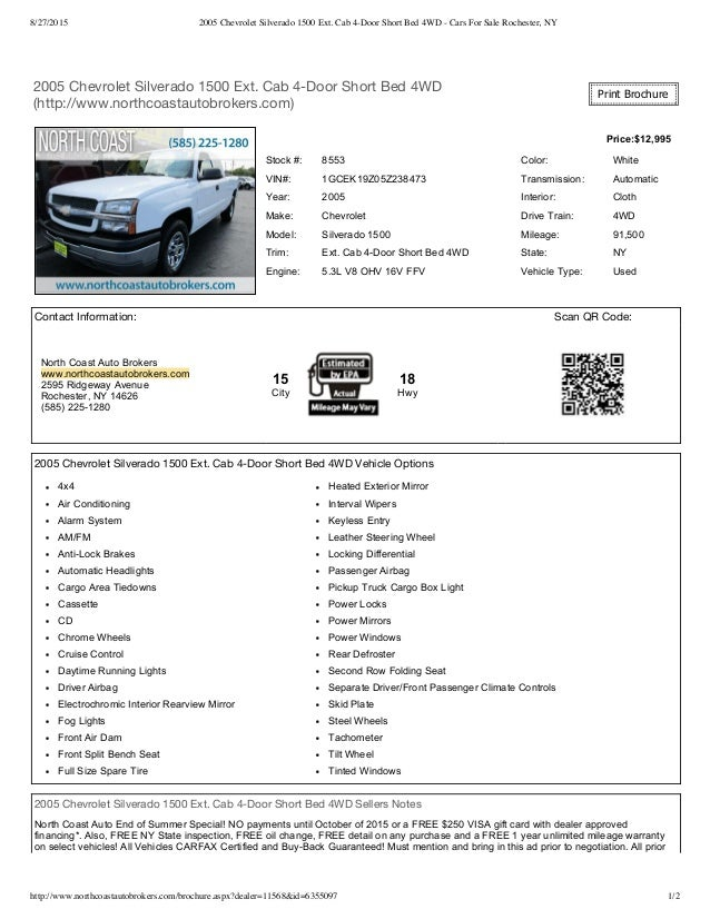 Cars For Sale Rochester Ny >> Used Trucks For Sale Rochester Ny