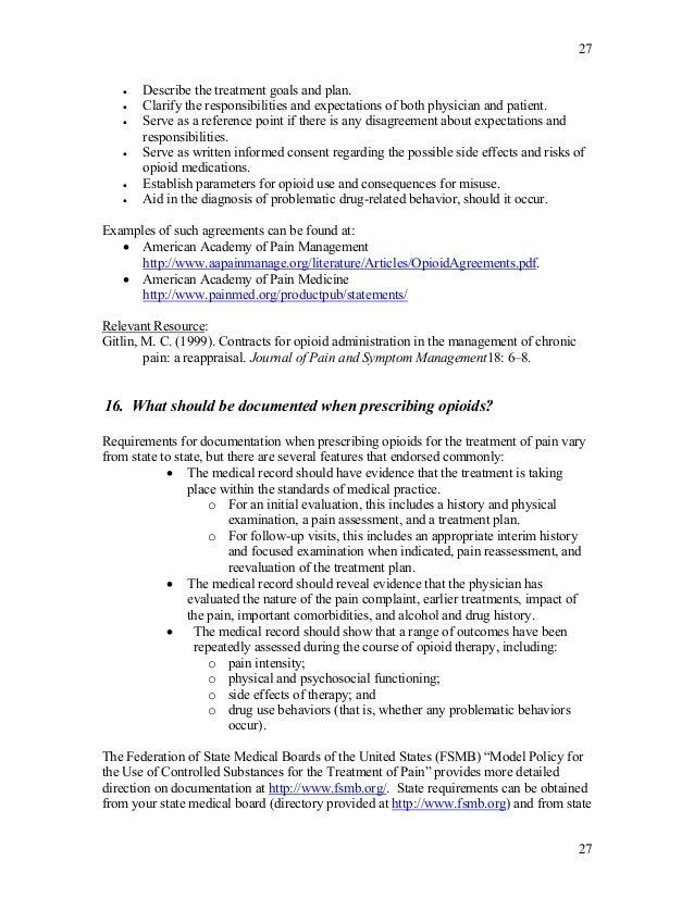 2005 dea faq 39 s for Pain management templates
