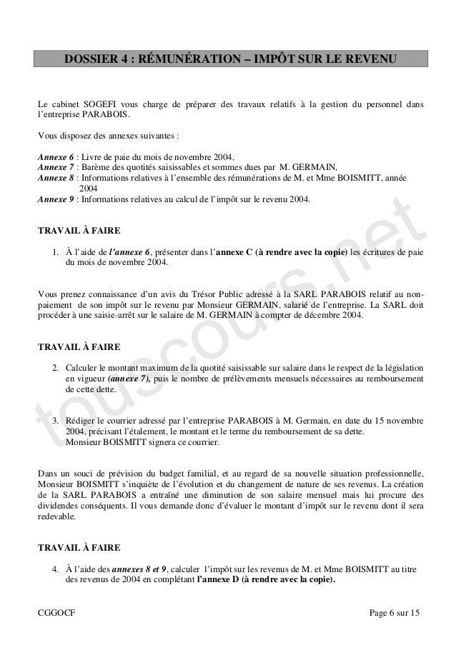 Etude De Cas Metro Hollande Sujet