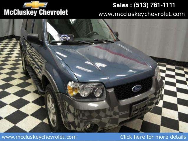 Used 2005 Ford Escape Wb Xlt Kings Automall Cincinnati Ohio