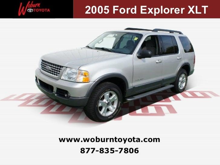 2005 Ford Explorer Xlt >> Boston Used 2005 Ford Explorer Xlt