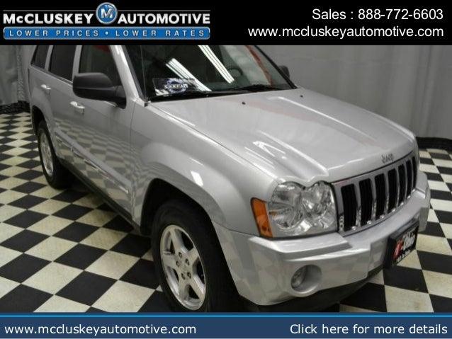used 2005 jeep grand cherokee limited cincinnati ohio used car deal. Black Bedroom Furniture Sets. Home Design Ideas