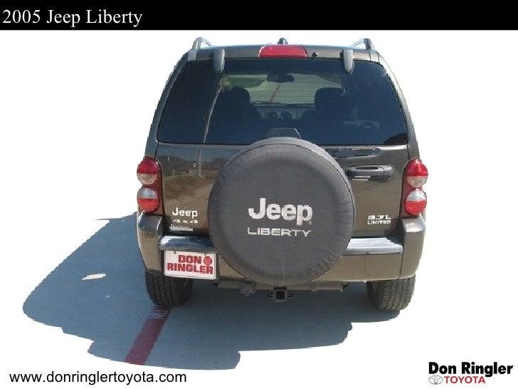 2005 Jeep Liberty For Sale - Don Ringler Car Dealer, Tx