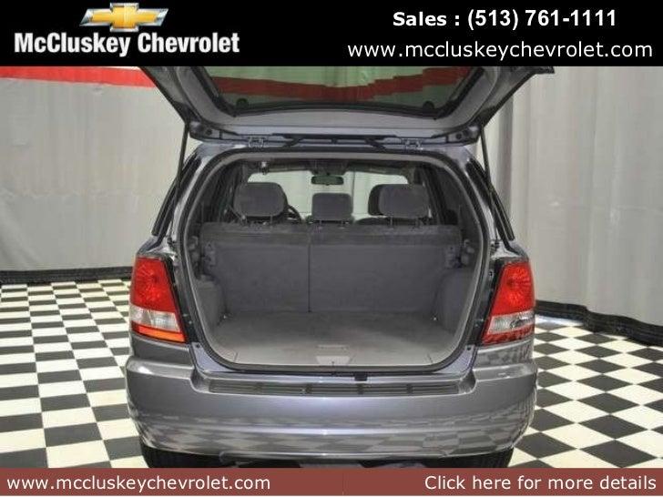 Mccluskey Chevrolet Kings Auto Mall >> Used 2005 Kia Sorento SUV at Cincinnati & Hamilton, Ohio