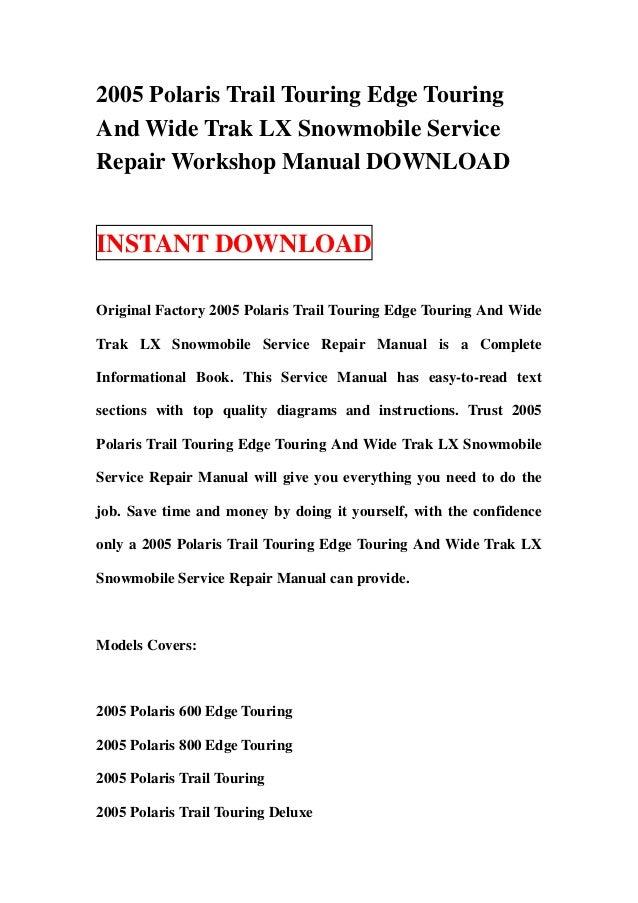 Polaris xlt shop manual 500 edge 9917362 array wiring diagram for 2000 polaris indy 600 wiring diagram database rh brandgogo co fandeluxe Gallery