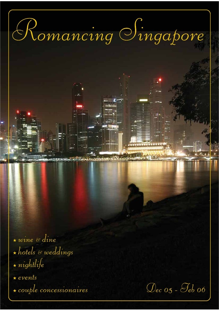 Romancing Singapore  Festival Booklet