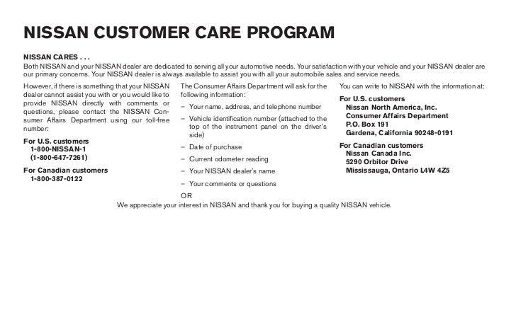 2006 frontier owner s manual rh slideshare net 2006 Nissan Frontier Nismo nissan frontier owners manual 2000