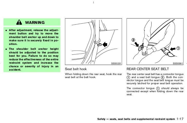 2006 murano owner s manual rh slideshare net nissan murano owners manual 2017 nissan murano owners manual 2013