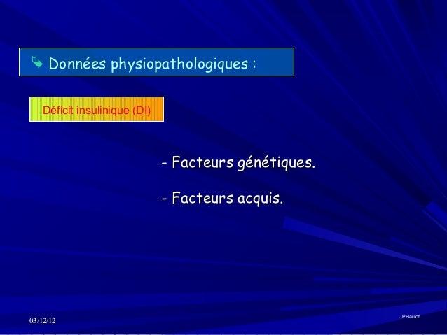physiopathologie diabete type 2 pdf
