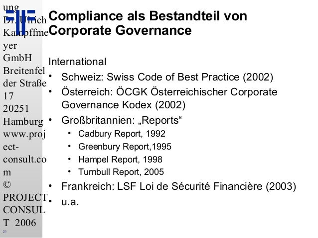 De information management compliance policies und ihre for Consul best practices
