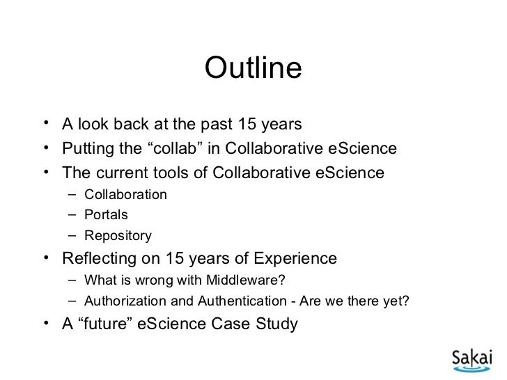 A View on eScience Slide 2