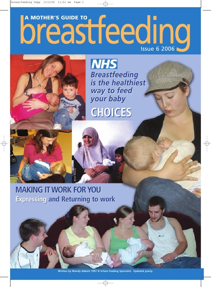 Breastfeeding 24pp   13/2/06   11:01 am     Page 1         breastfeeding         A MOTHER'S GUIDE TO                      ...