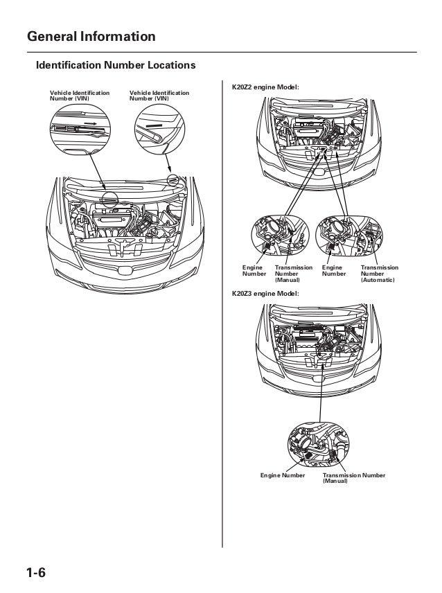2006 acura csx service repair manual