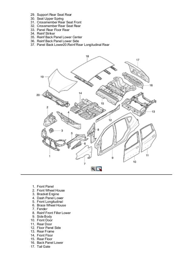 2006 chevrolet rezzo service repair manual