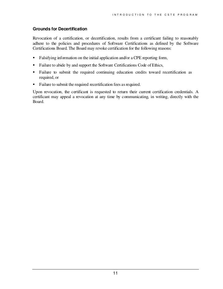 cste and csqa filetype pdf