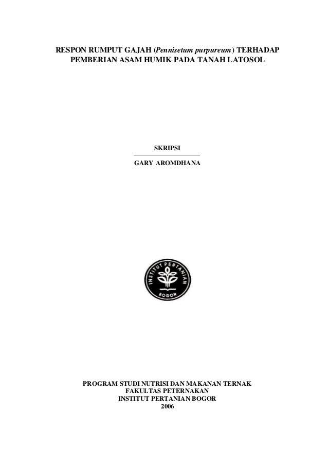 Skripsi Rancangan Acak Kelompok Pertanian - Ide Judul ...