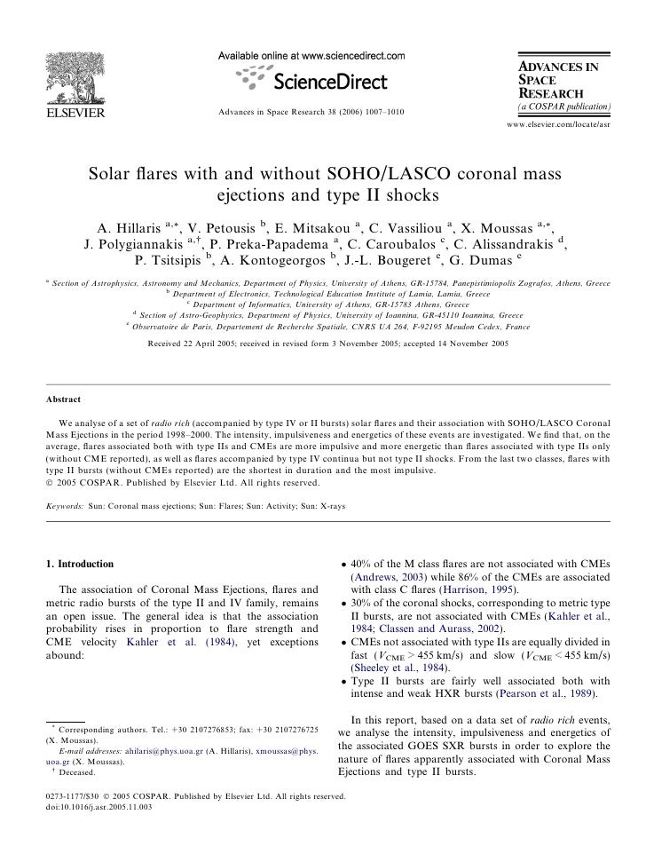 Advances in Space Research 38 (2006) 1007–1010                                                                            ...