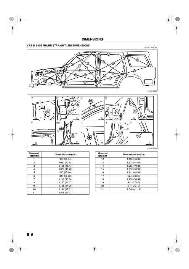 1998 dodge ram frame dimensions