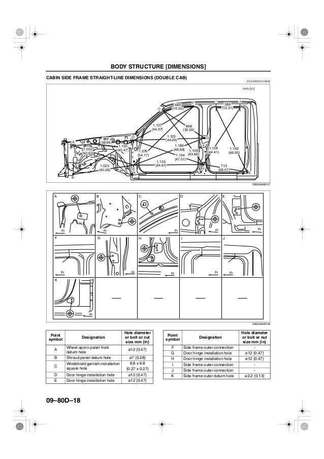 Ford Ranger Body Parts Diagram