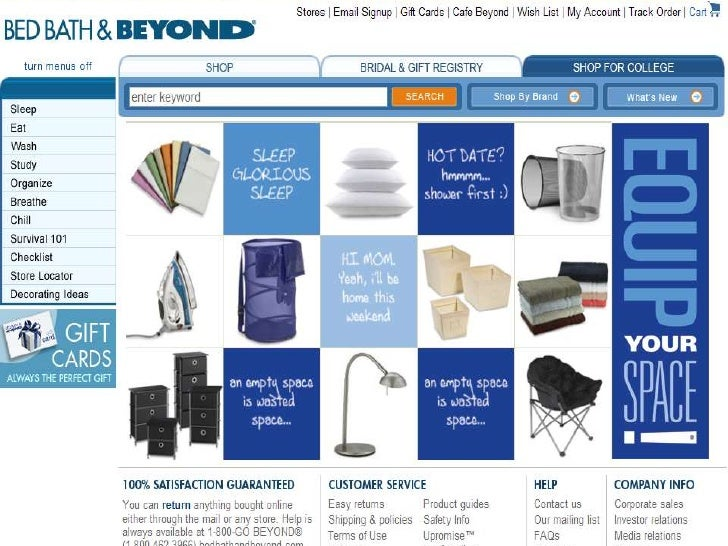 What Are Bed Bath And Beyond Competitors