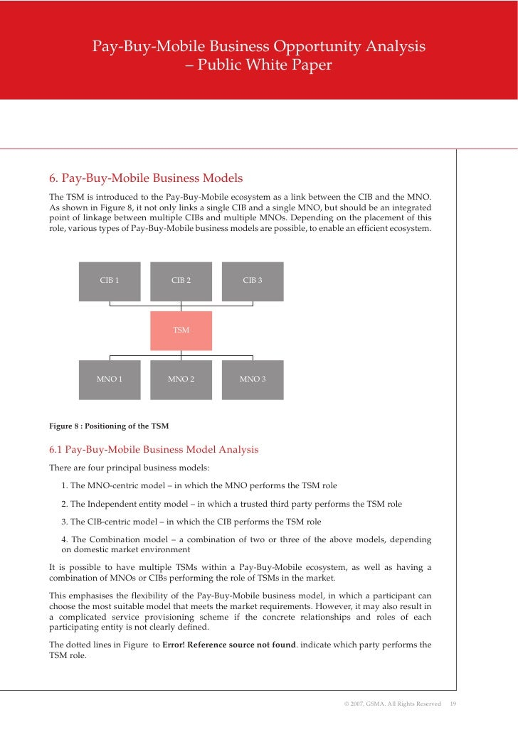 2007 12 - gsma - pay-buy - business opportunty analysis