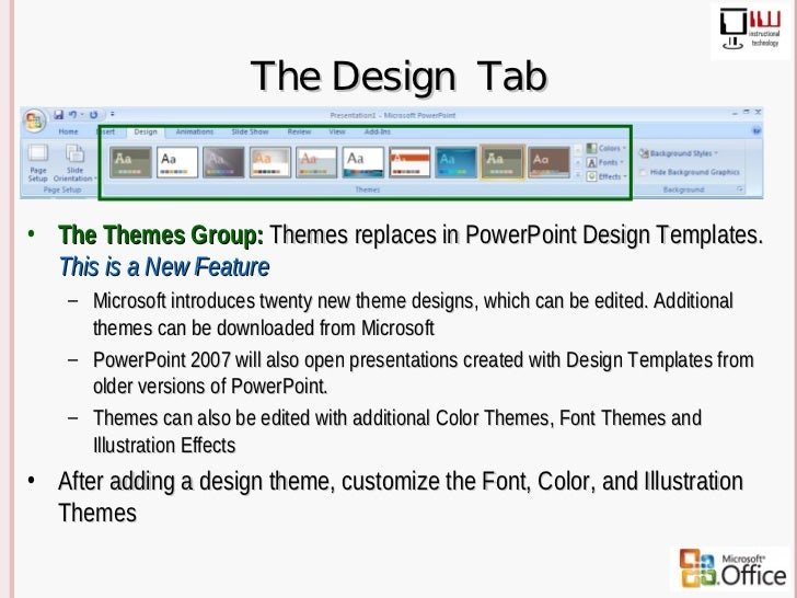 themes for microsoft powerpoint 2007
