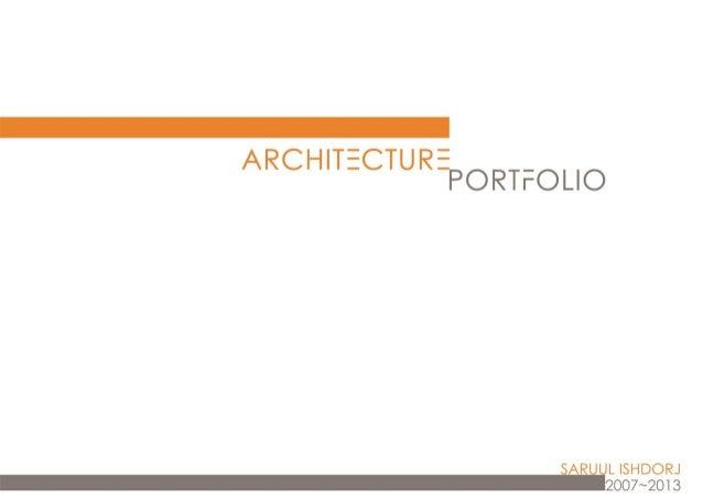 2007 2013 saruul-portfolio