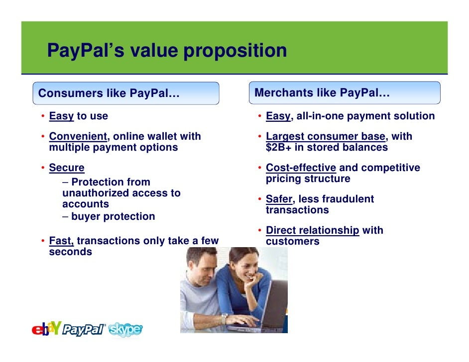 what is the value proposition that paypal offers consumers how about merchants View notes - case5 from bsad 444 at truman state alexandria rollet case 5 1 what is the value proposition that square offers consumers how about merchants what.