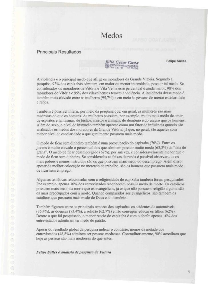 2007   pesquisa futura - medos - 10 e 11 abril