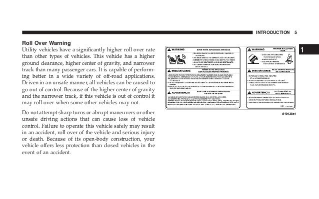 2007 jeep wrangler owners manual