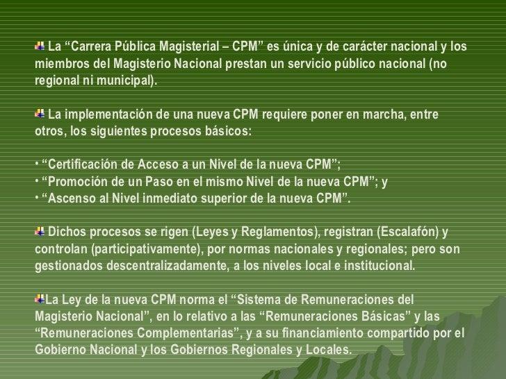 20070504.CARLOS MALPICA FAUSTOR SOBRE PROYECTO LEY CARRERA PUBLICA MAGISTERIAL EN CONGRESO DE LA REPUBLICA Slide 2
