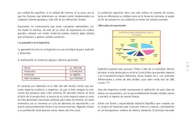 [39]   Razas utilizadas en la producción de carne Igual que en el resto de Latinoamérica la población original fue el ga- ...