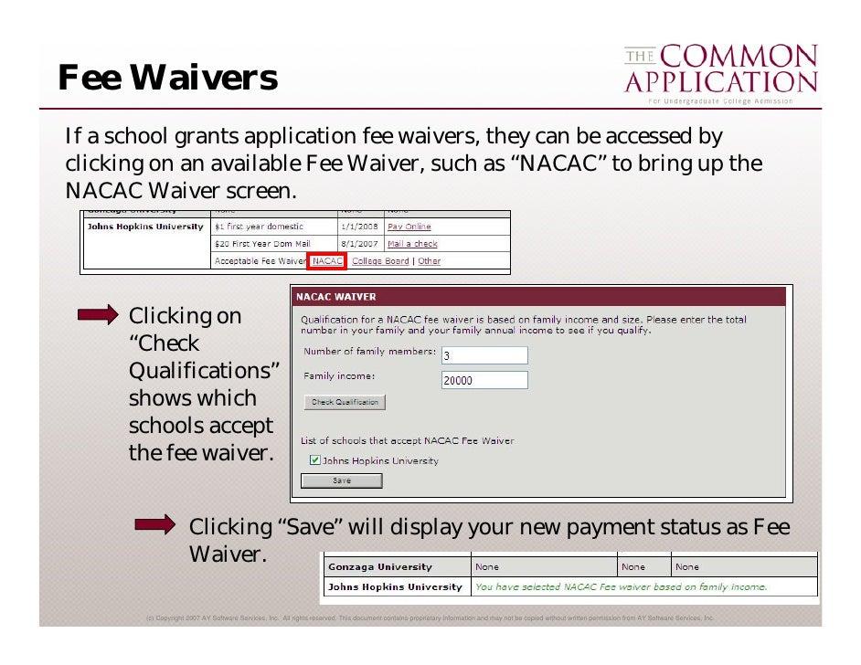 2007-08 Common App Online