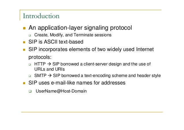what is sip protocol pdf