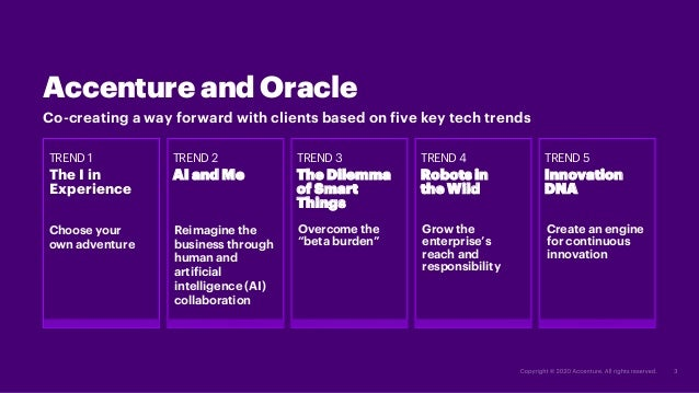 Highlights on the five key trends Slide 3