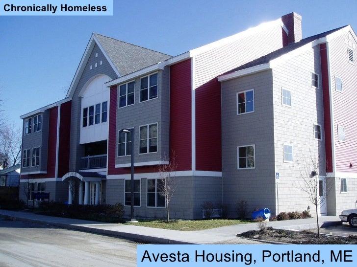 Chronically Homeless Avesta Housing, Portland, ME Chronically Homeless Avesta Housing, Portland, ME