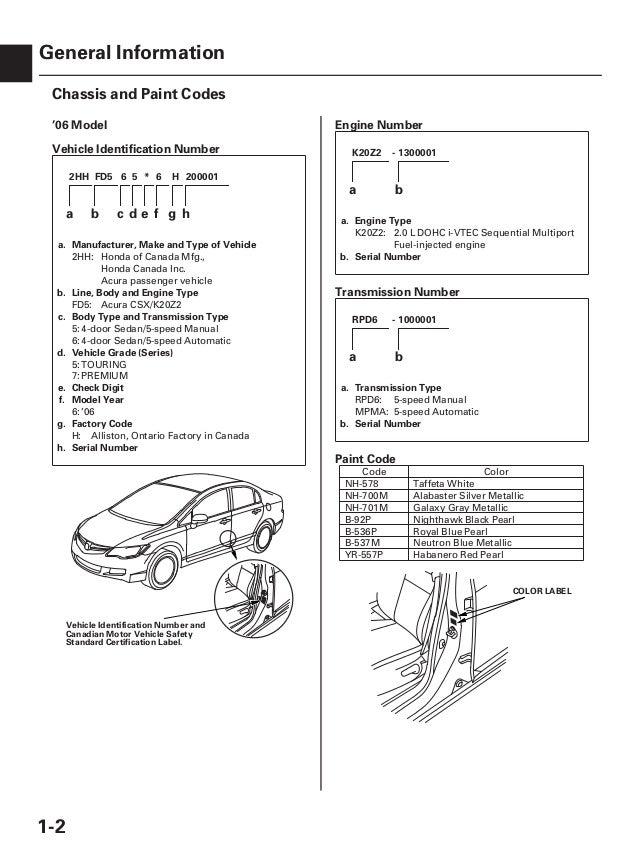 2007 acura csx service repair manual on