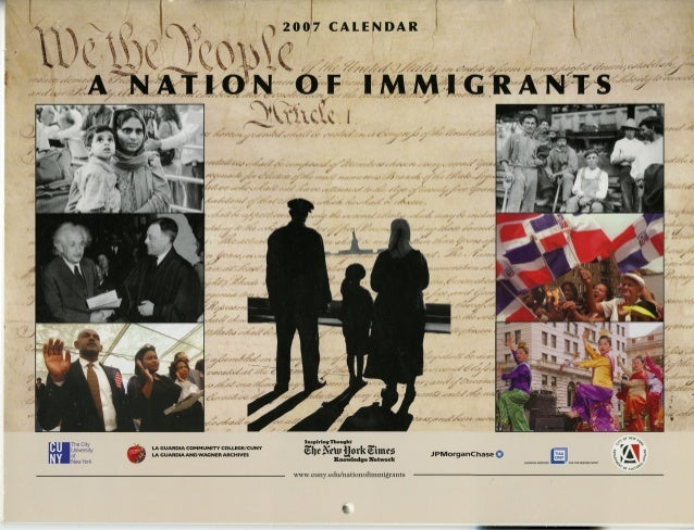 2007 a nation of immigrants