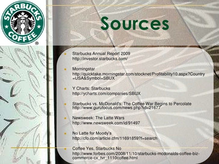 financial analysis of starbucks vs panera Swot matrix and organizational strategic plan paper  it has steadily maintained a strong buy rating by financial analysts in the stock  panera has since an.