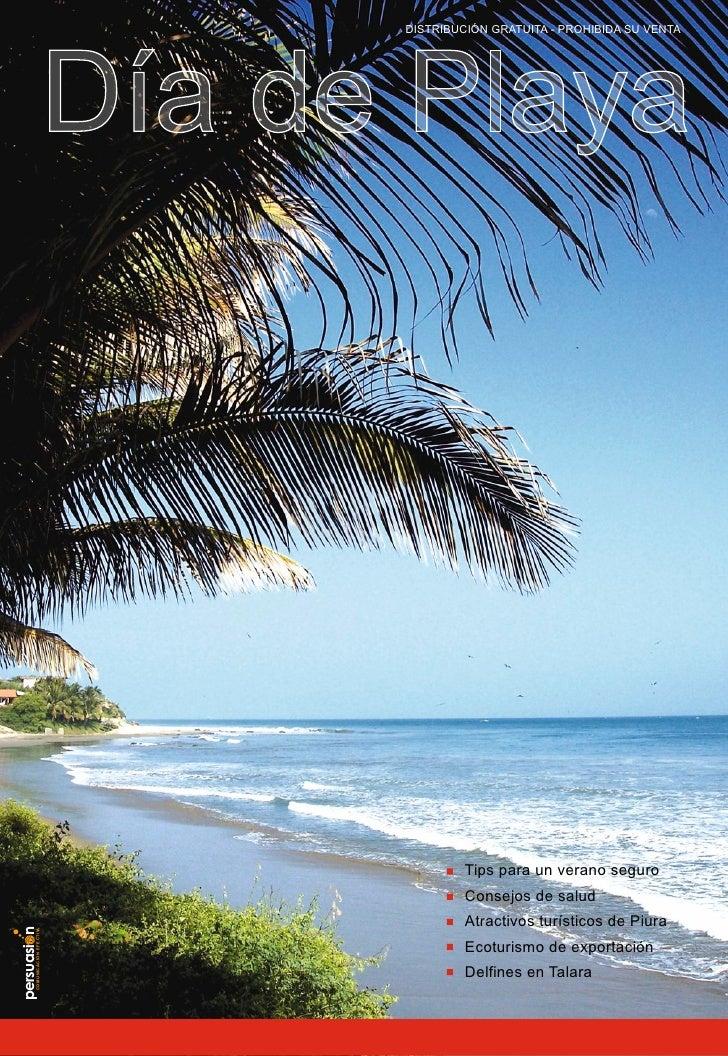DISTRIBUCIÓN GRATUITA - PROHIBIDA SU VENTA                                 Día de Playa                                   ...
