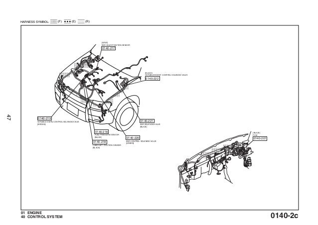 ford courier engine diagram