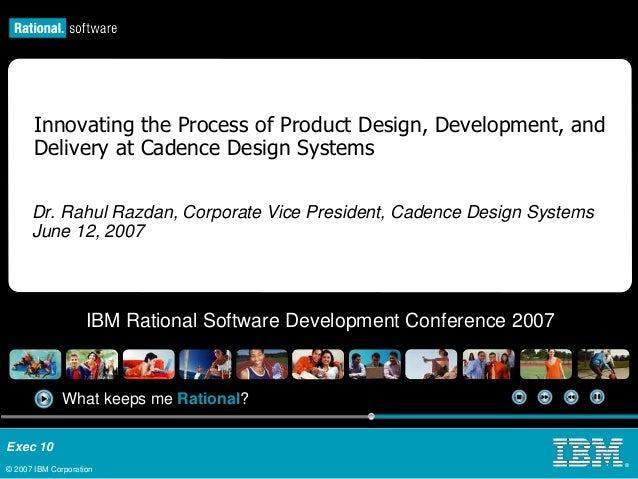 Innovating the Software Development Process at Cadence