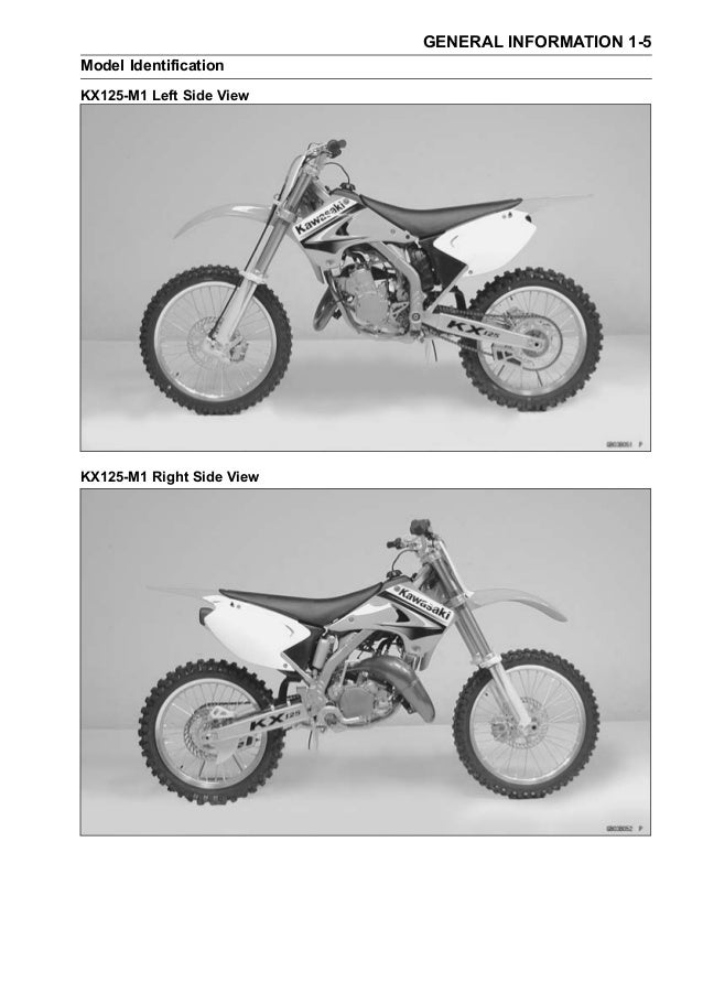 Remarkable 2007 Kawasaki Kx125 M7F Service Repair Manual Pabps2019 Chair Design Images Pabps2019Com
