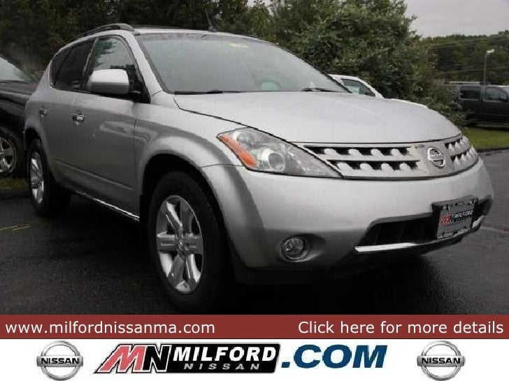 ... Www.milfordnissanma.com Click Here For More Details ...