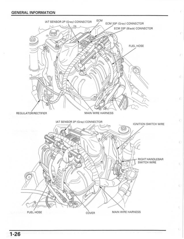 Honda Motorcycle Wiring Color Codes