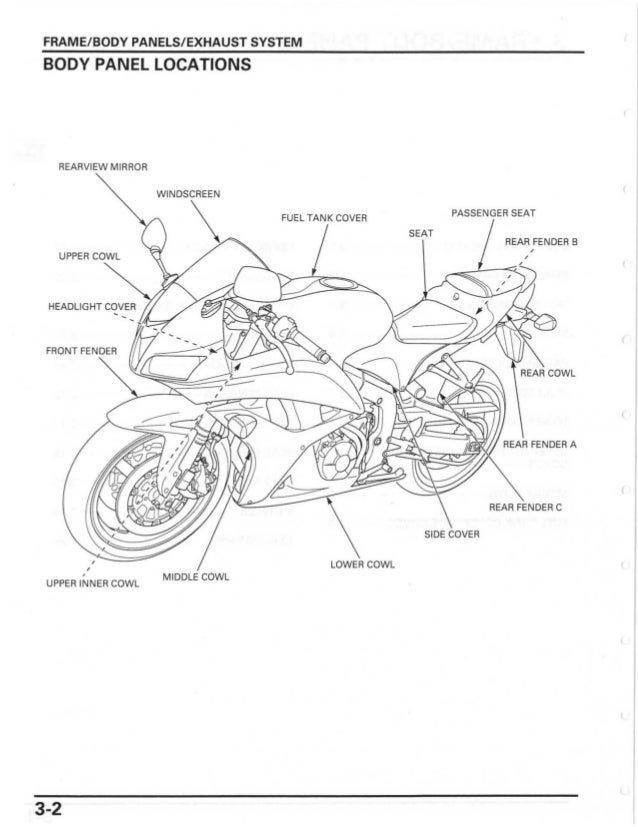 2007 honda cbr600rr fuse box   28 wiring diagram images