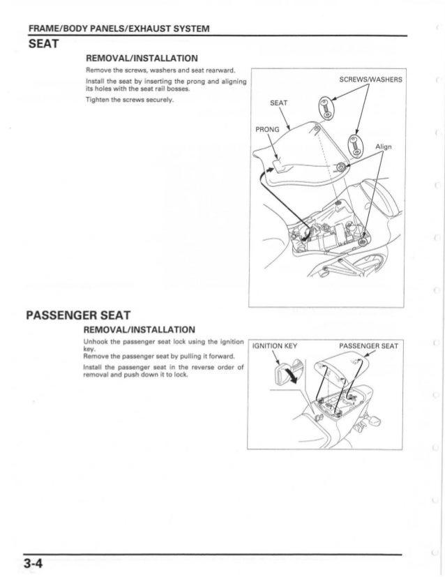 2007 owner manual honda cbr600rr rh slideshare net