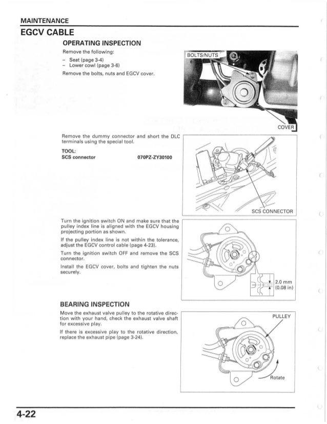 2007 Owner Manual Honda Cbr600rr